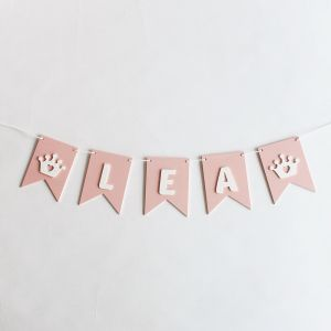 Flag Bunting - Pink