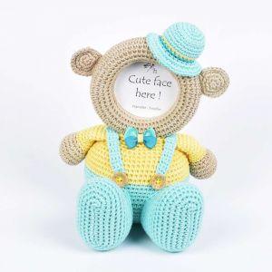 Dungree Boy - Crochet Frame