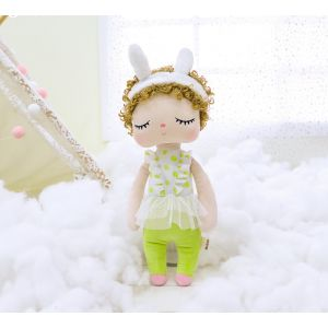 Sleeping Bunny Doll - The Green Curly Girl