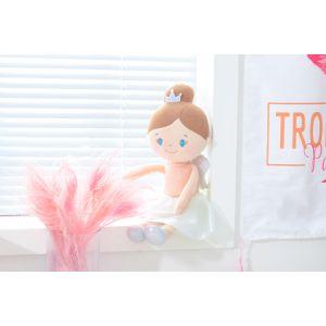 Sleeping Bunny Doll - Fairy Peach