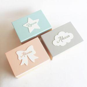 Personalised Storage Box - Bow , Star , Cloud