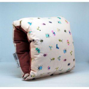 NAP: Nursing Arm Pillow – butterfly print with plain reverse