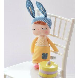Sleeping Bunny Doll - Yellow