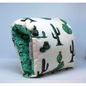 NAP: Nursing Arm Pillow – Mexico Cactus with green print reverse