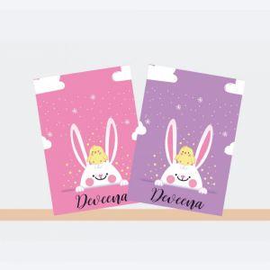 Personalised Notebooks - Bunny Theme