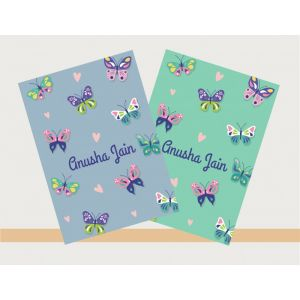 Personalised Notebooks - Butterfly Theme