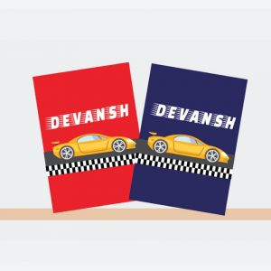 Personalised Notebooks - Car Racer Theme
