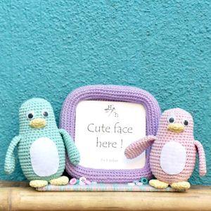 Penguin Crochet Frame