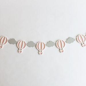 Hot Air Balloon Bunting - Pink