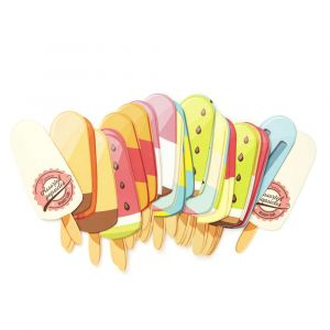 Popsicle Memory Cards