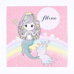 Magnetic Puzzles - Rainbow Mermaid