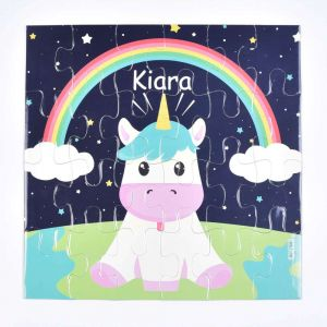 Magnetic Puzzles - Rainbow Unicorn