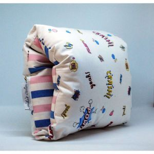NAP: Nursing Arm Pillow – Retro graphics with multi stripes reverse