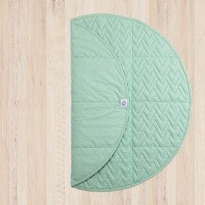 GRAB AND GO FOLDABLE BABY MAT - MINT