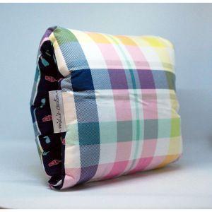 NAP: Nursing Arm Pillow Summer with checks- Multicolour