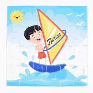 Magnetic Puzzles - Surf board